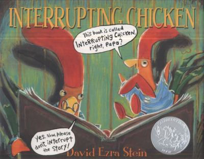 Book cover of Interrupting Chicken