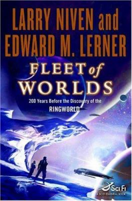 Book cover for Fleet of Worlds