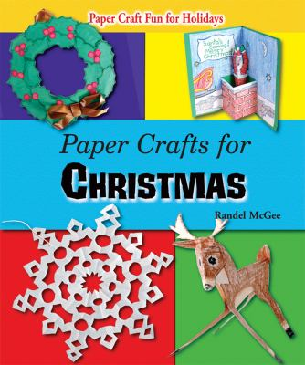 Book cover of Paper Crafts for Christmas