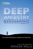 cover: Deep ancestry