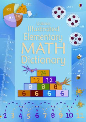 Cover of Usbone Illustrated Elementary Math Dictionary