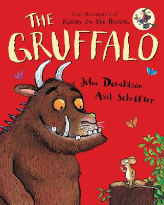 Book cover of The Gruffalo