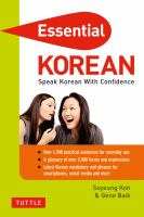Essential Korean cover