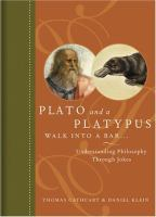 Plato and a Platypus Walk into a bar, cover