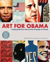 "cover image of ""Art for Obama"""