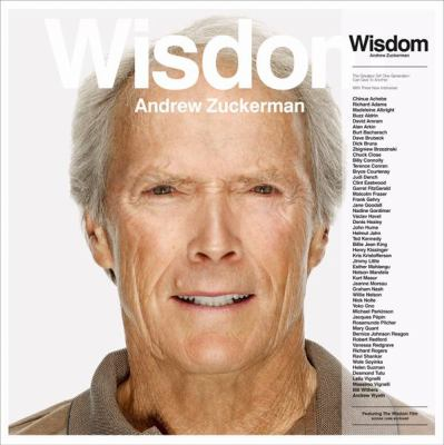 Book cover of Wisdom by Andrew Zuckerman