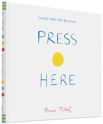 Book cover of Press Here