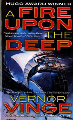 A fire upon the deep by  Vernor Vinge, 1992