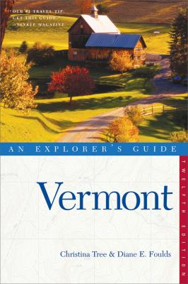 Book cover: Explorer's Guides Vermont