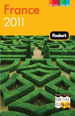 Book cover: Fodor's France