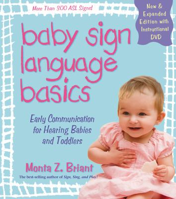 Book Cover: Baby Sign Language Basics