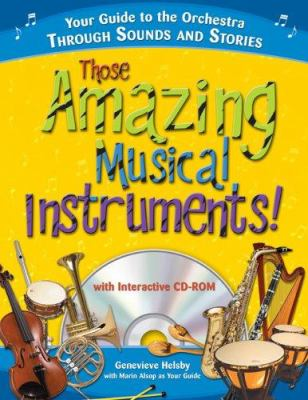 Book Cover: Those Amazing Musical Instruments
