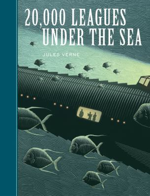 20,000 leagues under the sea by  Jules Verne (1870) ; illustrated by Scott McKowen.