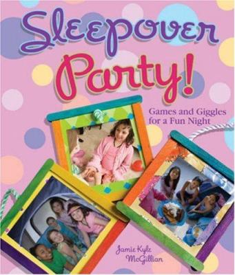 Book cover: Sleepover party