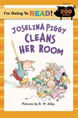 book cover of Joselina Piggy Cleans Her Room