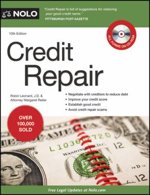 Credit Repair Book Cover