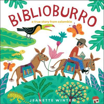 Book cover of Biblioburro