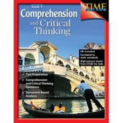 Book cover of Comprehension and Critical Thinking Grade 4