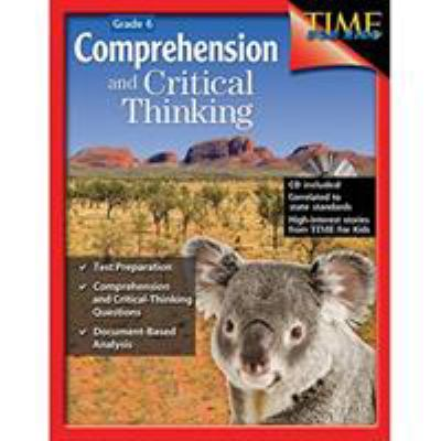 Book cover of Comprehension and Critical Thinking Grade 6