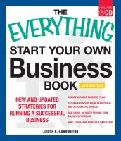 Start Your Own Business Book : New and Updated Strategies for Running a Successful Business