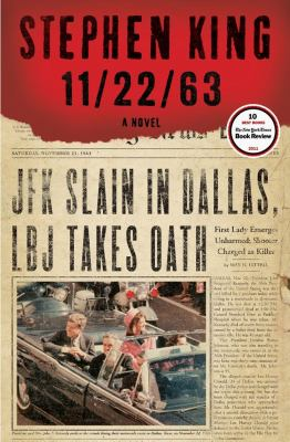 book cover: 11/22/63