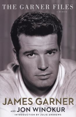 Cover of the book The Garner Files with a picture of actor James Garner on the cover