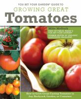 Cover of You Bet Your Garden Guide to Growing Great Tomatoes