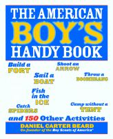 Cover of The American Boys Handy Book