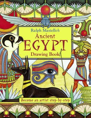 book cover of Ancient Egypt Drawing Book