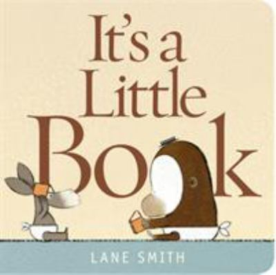 It's a little book  by Lane Smith, 2011
