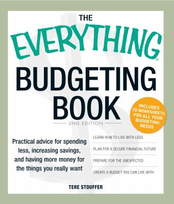 Book Cover of the Everything Budgeting Book
