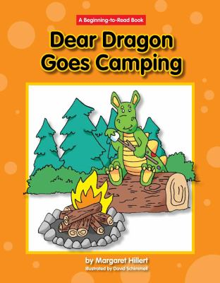 Dear Dragon Goes Camping book cover