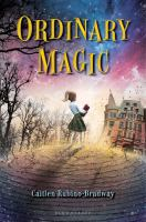 "Cover for the book, ""Ordinary Magic."""