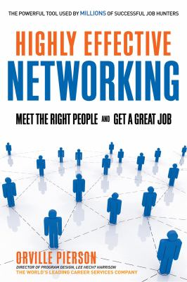 Book Cover of Highly Effective Networking