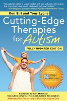 Cutting-Edge Therapies for Autism 2012-2013