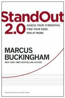 StandOut 2. 0 : Assess Your Strengths, Find Your Edge, Win at Work