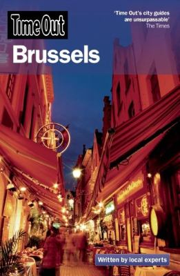 Book cover: Time Out Brussels