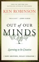 Cover of Out of Our Minds by Ken Robinson