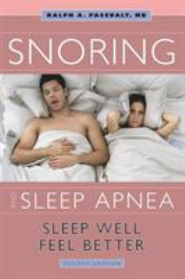 Cover of Snoring and Sleep Apnea.