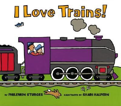 Details about I Love Trains!
