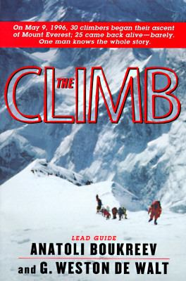 Details about The climb : tragic ambitions on Everest