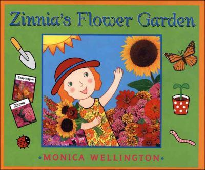 Details about Zinnia's Flower Garden
