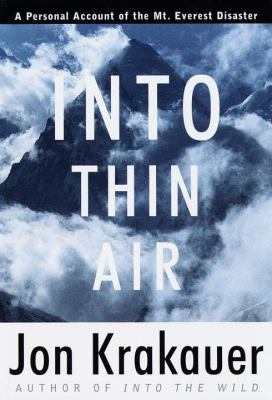 Details about Into thin air : a personal account of the Mount Everest disaster