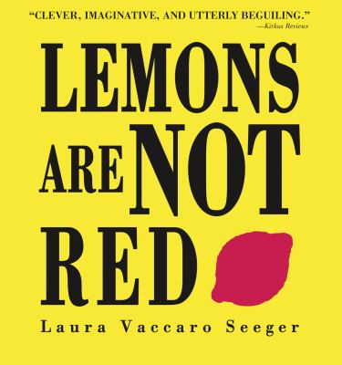 Details about Lemons Are Not Red