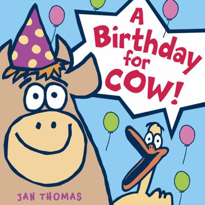 Details about A Birthday For Cow!