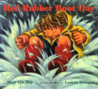 Details about Red Rubber Boot Day