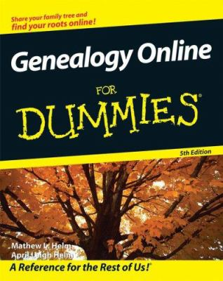 Details about Genealogy online for dummies