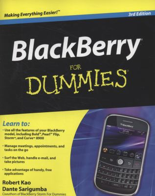 Details about BlackBerry for dummies