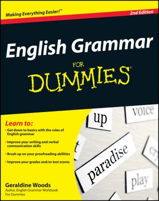 Details about English grammar for dummies