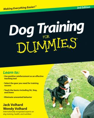 Details about Dog Training for Dummies.
